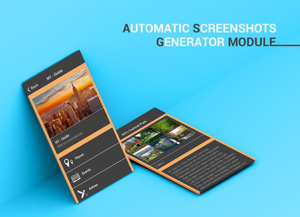 Automatic APK & Screenshot Generator Module for Siberian CMS
